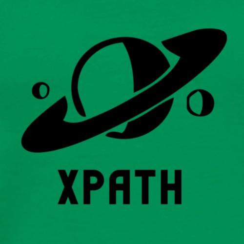 XPath Logo - Saturno/Saturn - Maglietta Premium da uomo