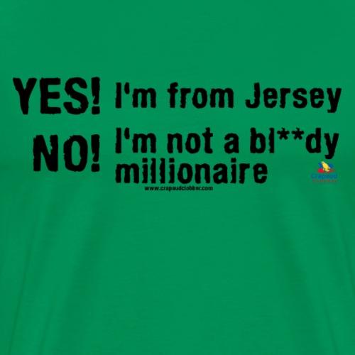 Millionaire - Black - Men's Premium T-Shirt
