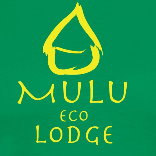 Mulu Lodge 3 Yellow version - Männer Premium T-Shirt