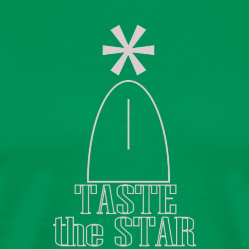 taste the star 22 - Männer Premium T-Shirt
