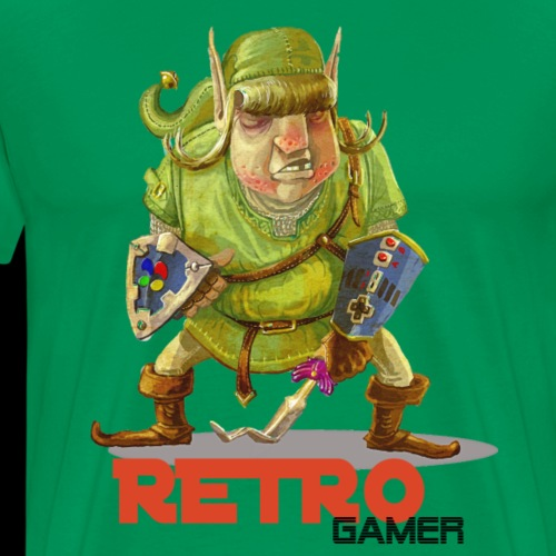 Retro-Gamer - T-shirt Premium Homme