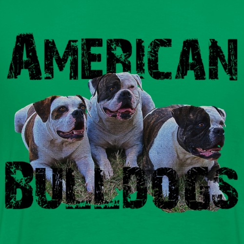 Bulldoge,Hundekopf,AmericanBulldog,Bulldogge,Hunde - Männer Premium T-Shirt