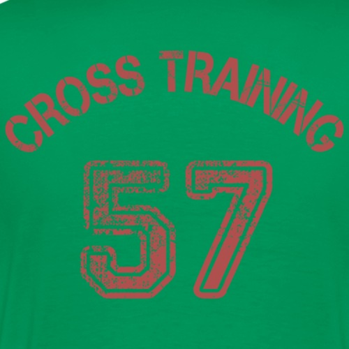 03 - Visuel dos - Cross training 57 - T-shirt Premium Homme