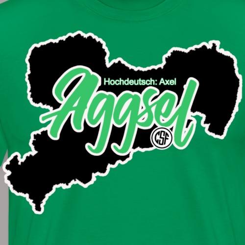 Aggsel - Axel - Männer Premium T-Shirt