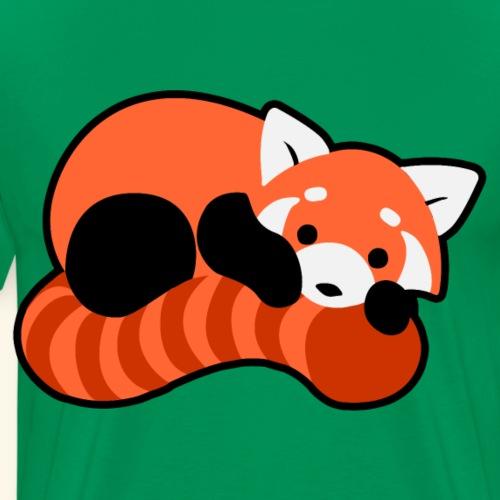 Roter Panda - Männer Premium T-Shirt