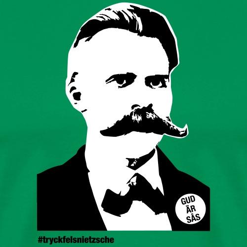 tryckfelsnietzsche_sås - Premium-T-shirt herr