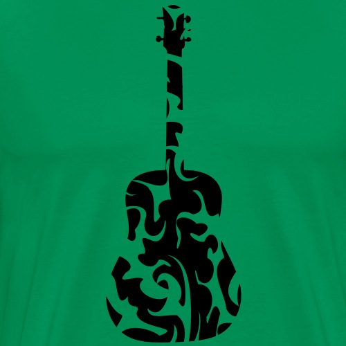 Gitarre Tribal - Männer Premium T-Shirt