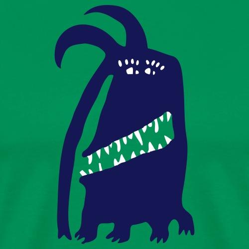 Funny Monster Bert - Männer Premium T-Shirt