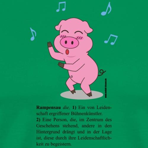 Rampensau tanzend - Männer Premium T-Shirt
