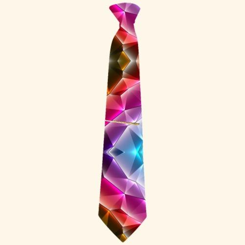 Krawatte 122 mit Goldnadel - Männer Premium T-Shirt