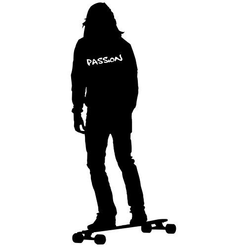 Leidenschaft Longboard. (Motivfarbe änderbar!) - Männer Premium T-Shirt