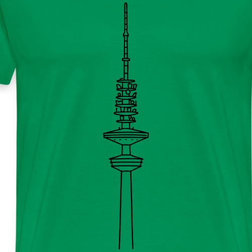 Heinrich-Hertz-Turm Hamburg - Männer Premium T-Shirt