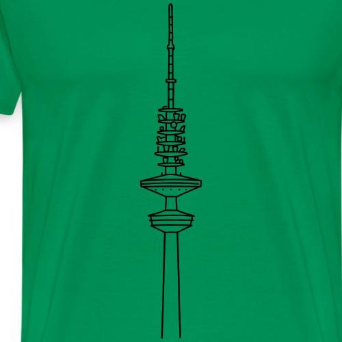 Heinrich-Hertz-Turm Hamburg - Maglietta Premium da uomo