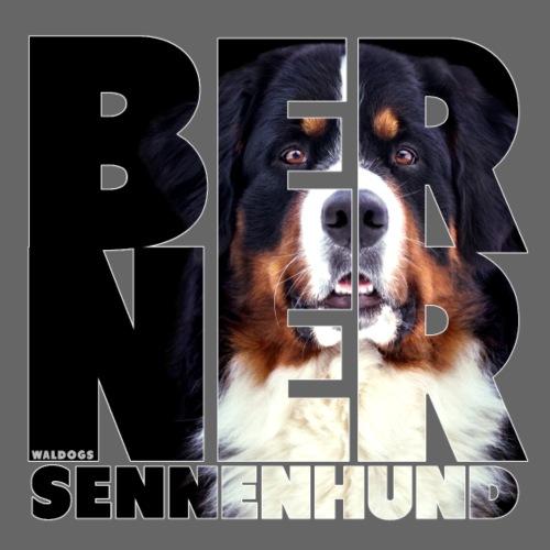 NASSU Berner Black - Miesten premium t-paita