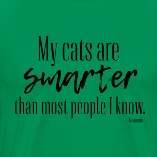Cats - Smarter II - Miesten premium t-paita