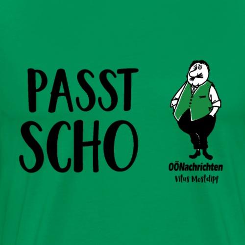Passt scho - Vitus Mostdipf - Männer Premium T-Shirt