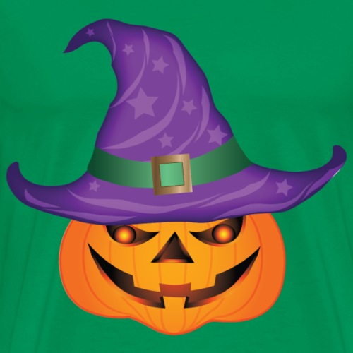 Pumpkin Witch - Men's Premium T-Shirt