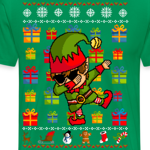 Debbing Elf - Ugly christmas sweater