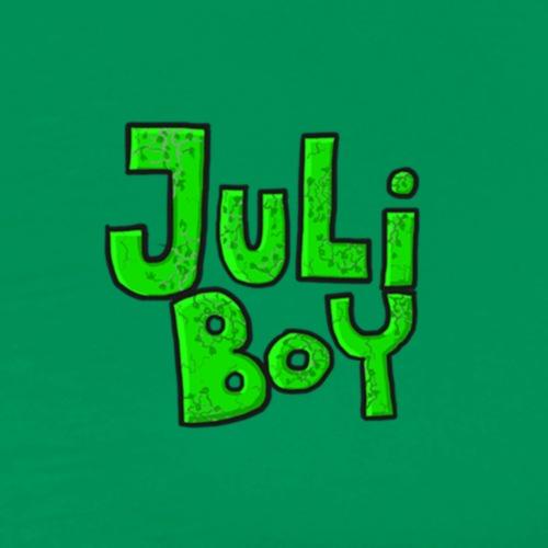 juliboy text onder elkaar - Men's Premium T-Shirt