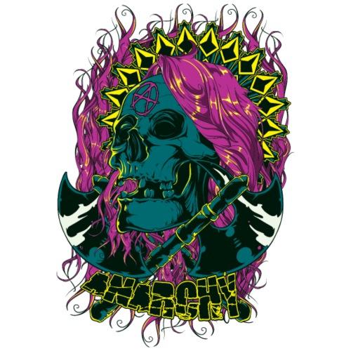 Purple Anarchy - Camiseta premium hombre