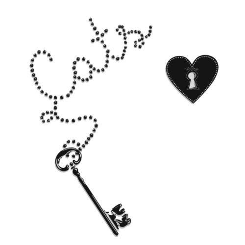 Key Cats Black - Miesten premium t-paita