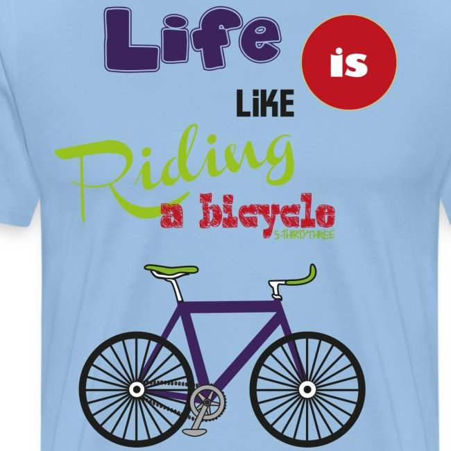 S33 life riding bicycle