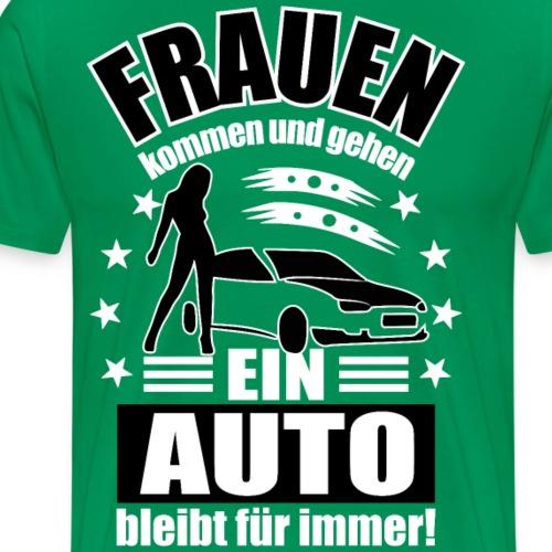 Frauen und Autos - Männer Premium T-Shirt