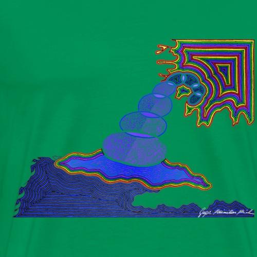 Zauber der Natur 8 - Männer Premium T-Shirt
