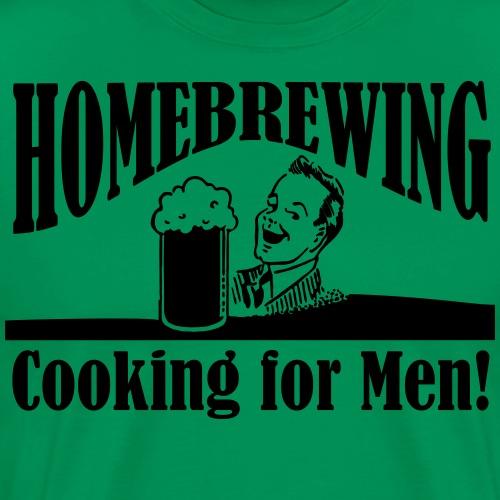 cooking for men - Men's Premium T-Shirt