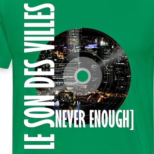 Le Son Des Villes : World Vinyl - T-shirt Premium Homme
