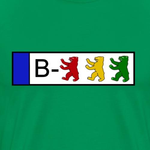 Kennzeichen - Männer Premium T-Shirt