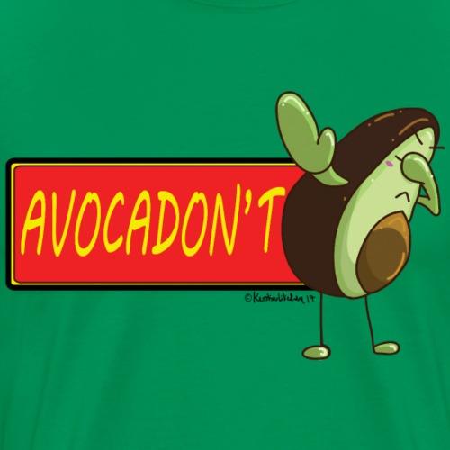 AvocaDON'T - Men's Premium T-Shirt