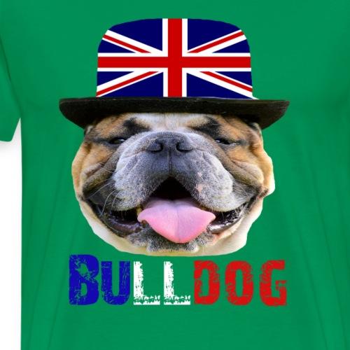 Bulldogge,Englische Bulldogge,Hunde,Hundebesitzer - Männer Premium T-Shirt