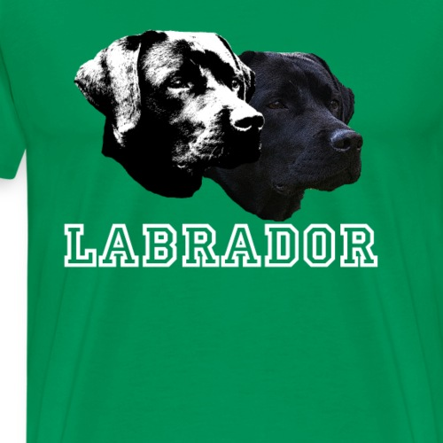Labrador, Retriever,Labrador Retriever,Hunde - Männer Premium T-Shirt