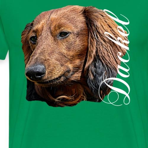 Dackel , Hundebesitzer,Hundeliebhaber,Hunde - Männer Premium T-Shirt