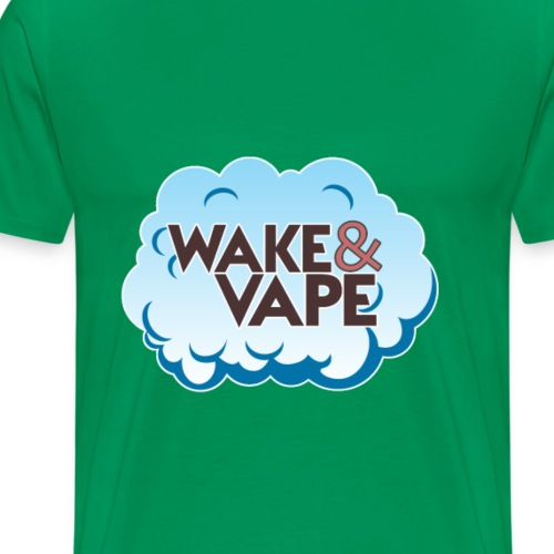 Wake & Vape - Men's Premium T-Shirt