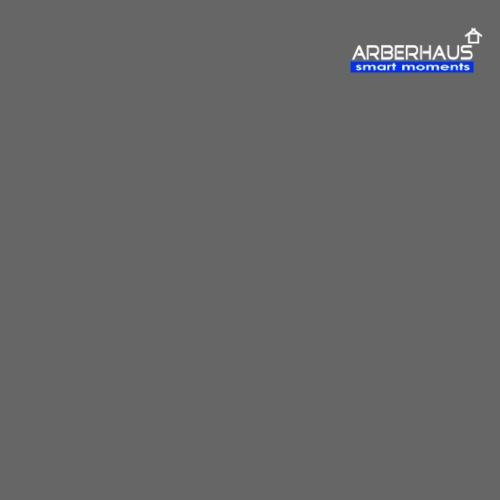 Logo Arberhaus smart moments weiß - Männer Premium T-Shirt
