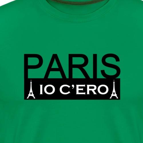 Paris_io_c_ero_v2 - Maglietta Premium da uomo