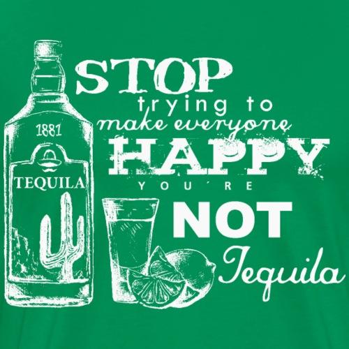 Happy Tequila - Männer Premium T-Shirt