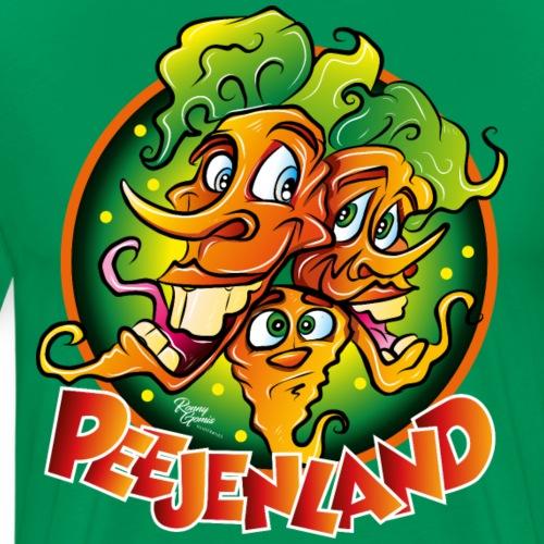 PEEJENLAND - Mannen Premium T-shirt