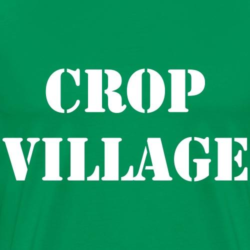 Crop Village BOLD - Premium-T-shirt herr