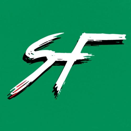 ScreemFace Logo Black And White - Men's Premium T-Shirt