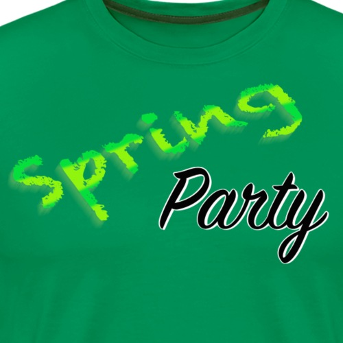 Spring Party - Premium-T-shirt herr