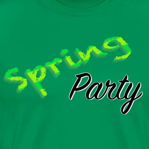 Spring Party - Premium-T-shirt herr