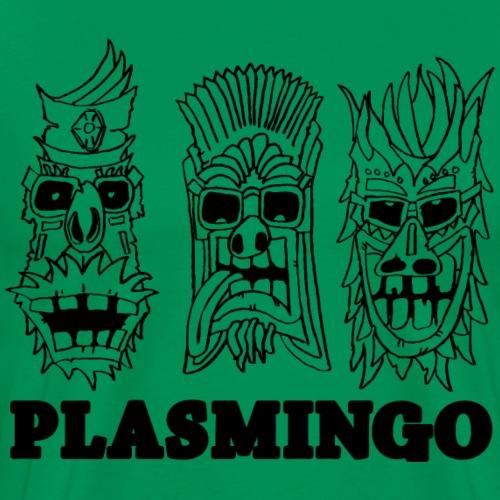 Plasmingo - Tiki-guys - Premium-T-shirt herr