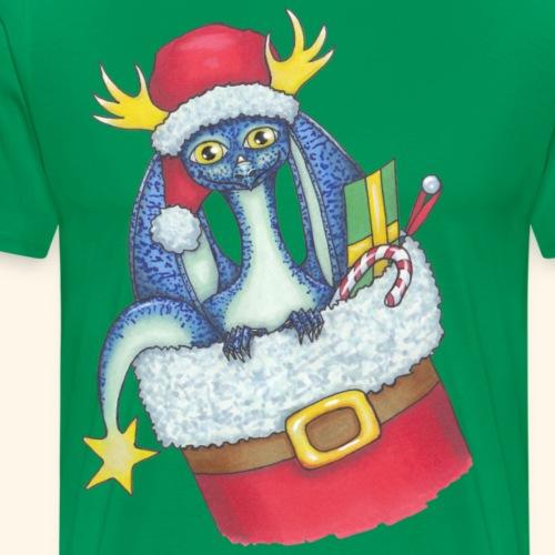 Juldrake - Premium-T-shirt herr