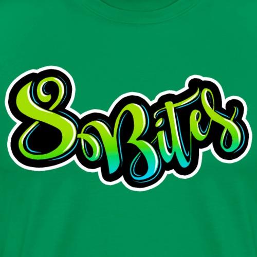 8 Bites Gradient - Men's Premium T-Shirt