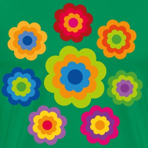 limited edition 4b flower power - Männer Premium T-Shirt