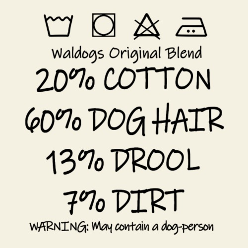 Waldogs Original Blend EN - Miesten premium t-paita