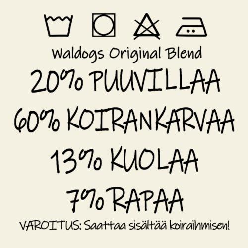 Waldogs O Blend I - Miesten premium t-paita